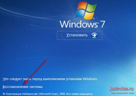 Обход пароля в Windows 7